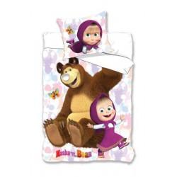 Pościel Dziecięca 160x200 Masza I Niedźwiedź 03